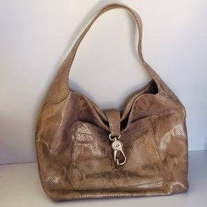 Dooney & Bourke Embossed Snake Skin Pocket Sac